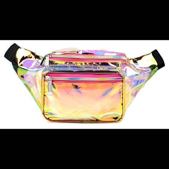 96fc66dbeb96 SoJourner Holographic Rave Fanny Pack